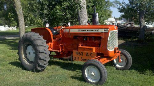 1963 Allis Chalmers D 17 Series Iii ( Tractors )